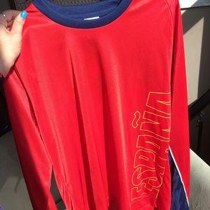 adidas long sleeve españa world cup soccer jersey